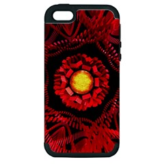 The Sun Is The Center Apple Iphone 5 Hardshell Case (pc+silicone)