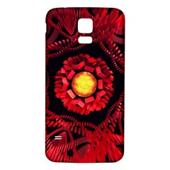 The Sun Is The Center Samsung Galaxy S5 Back Case (White)