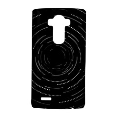 Abstract Black White Geometric Arcs Triangles Wicker Structural Texture Hole Circle LG G4 Hardshell Case