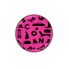 Car Plan Pinkcover Outside Hat Clip Ball Marker