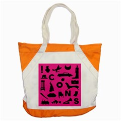 Car Plan Pinkcover Outside Accent Tote Bag