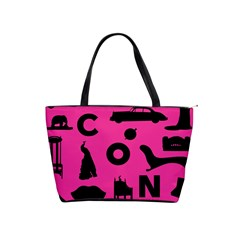 Car Plan Pinkcover Outside Shoulder Handbags
