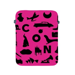 Car Plan Pinkcover Outside Apple iPad 2/3/4 Protective Soft Cases