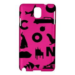 Car Plan Pinkcover Outside Samsung Galaxy Note 3 N9005 Hardshell Case