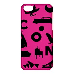 Car Plan Pinkcover Outside Apple Iphone 5c Hardshell Case