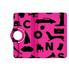 Car Plan Pinkcover Outside Kindle Fire HDX 8.9  Flip 360 Case