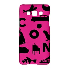 Car Plan Pinkcover Outside Samsung Galaxy A5 Hardshell Case