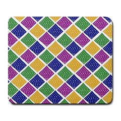African Illutrations Plaid Color Rainbow Blue Green Yellow Purple White Line Chevron Wave Polkadot Large Mousepads