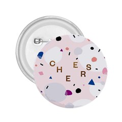 Cheers Polkadot Circle Color Rainbow 2.25  Buttons