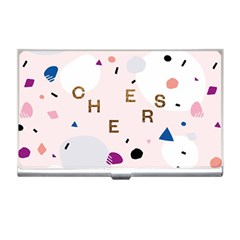 Cheers Polkadot Circle Color Rainbow Business Card Holders