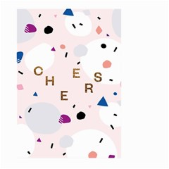 Cheers Polkadot Circle Color Rainbow Large Garden Flag (Two Sides)