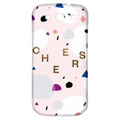 Cheers Polkadot Circle Color Rainbow Samsung Galaxy S3 S III Classic Hardshell Back Case