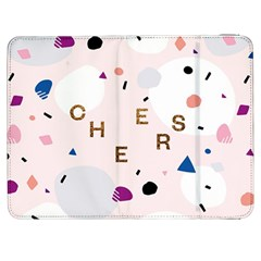 Cheers Polkadot Circle Color Rainbow Samsung Galaxy Tab 7  P1000 Flip Case