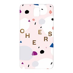 Cheers Polkadot Circle Color Rainbow Samsung Galaxy Note 3 N9005 Hardshell Back Case