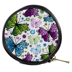 Butterfly Animals Fly Purple Green Blue Polkadot Flower Floral Star Mini Makeup Bags