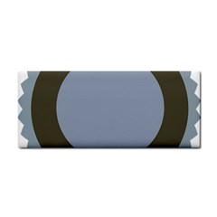 Circle Round Grey Blue Cosmetic Storage Cases