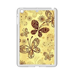 Butterfly Animals Fly Purple Gold Polkadot Flower Floral Star Sunflower iPad Mini 2 Enamel Coated Cases