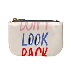 Don t Look Back Big Eye Pink Red Blue Sexy Mini Coin Purses