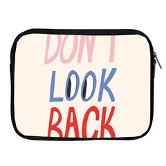 Don t Look Back Big Eye Pink Red Blue Sexy Apple iPad 2/3/4 Zipper Cases
