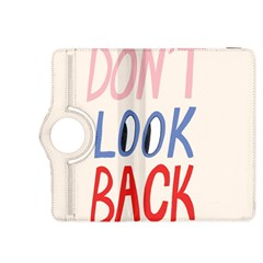 Don t Look Back Big Eye Pink Red Blue Sexy Kindle Fire HDX 8.9  Flip 360 Case