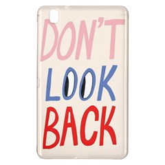 Don t Look Back Big Eye Pink Red Blue Sexy Samsung Galaxy Tab Pro 8.4 Hardshell Case