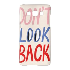 Don t Look Back Big Eye Pink Red Blue Sexy Samsung Galaxy A5 Hardshell Case