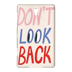 Don t Look Back Big Eye Pink Red Blue Sexy Samsung Galaxy Tab S (8.4 ) Hardshell Case