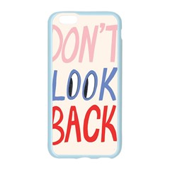 Don t Look Back Big Eye Pink Red Blue Sexy Apple Seamless iPhone 6/6S Case (Color)