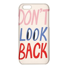 Don t Look Back Big Eye Pink Red Blue Sexy iPhone 6/6S TPU Case
