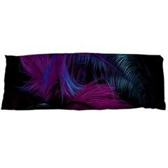 Feathers Quill Pink Black Blue Body Pillow Case Dakimakura (Two Sides)