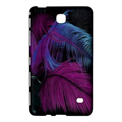 Feathers Quill Pink Black Blue Samsung Galaxy Tab 4 (7 ) Hardshell Case