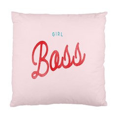 Girl Boss Pink Red Blue Sexy Standard Cushion Case (One Side)