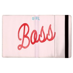 Girl Boss Pink Red Blue Sexy Apple iPad 2 Flip Case