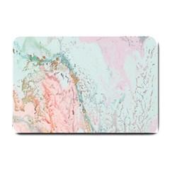Geode Crystal Pink Blue Small Doormat