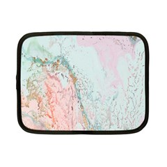 Geode Crystal Pink Blue Netbook Case (Small)