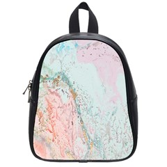 Geode Crystal Pink Blue School Bags (Small)