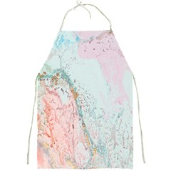 Geode Crystal Pink Blue Full Print Aprons