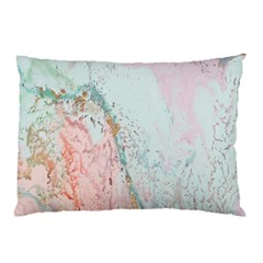 Geode Crystal Pink Blue Pillow Case (Two Sides)
