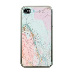 Geode Crystal Pink Blue Apple iPhone 4 Case (Clear)