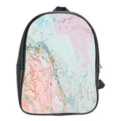 Geode Crystal Pink Blue School Bags (XL)