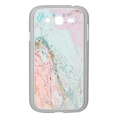 Geode Crystal Pink Blue Samsung Galaxy Grand DUOS I9082 Case (White)