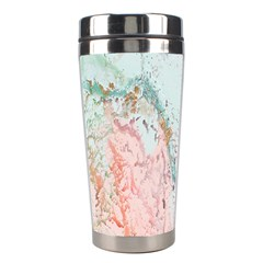 Geode Crystal Pink Blue Stainless Steel Travel Tumblers