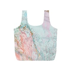 Geode Crystal Pink Blue Full Print Recycle Bags (S)
