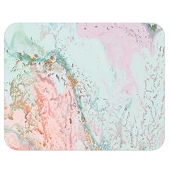 Geode Crystal Pink Blue Double Sided Flano Blanket (Medium)