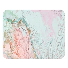 Geode Crystal Pink Blue Double Sided Flano Blanket (Large)