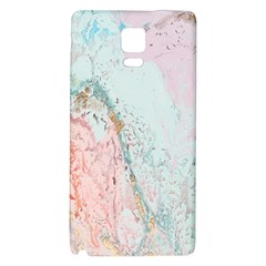 Geode Crystal Pink Blue Galaxy Note 4 Back Case