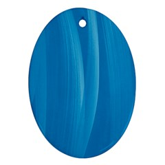 Abstraction Oval Ornament (Two Sides)