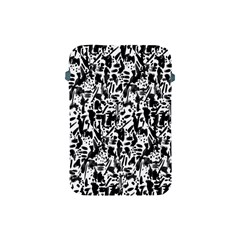 Deskjet Ink Splatter Black Spot Apple iPad Mini Protective Soft Cases