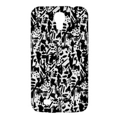 Deskjet Ink Splatter Black Spot Samsung Galaxy Mega 6.3  I9200 Hardshell Case