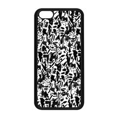 Deskjet Ink Splatter Black Spot Apple iPhone 5C Seamless Case (Black)